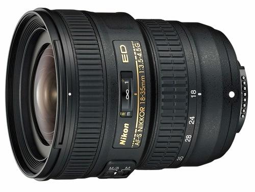 Nikon AF-S NIKKOR 18-35mm f/3.5-4.5G ED, zoom grand-angle FX