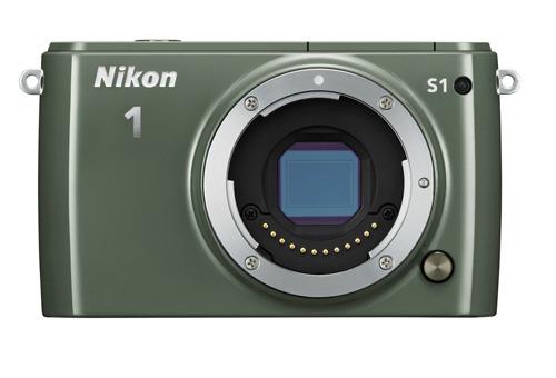 Nikon 1 S1 : 10Mp, simple et élégant pour 479 euros