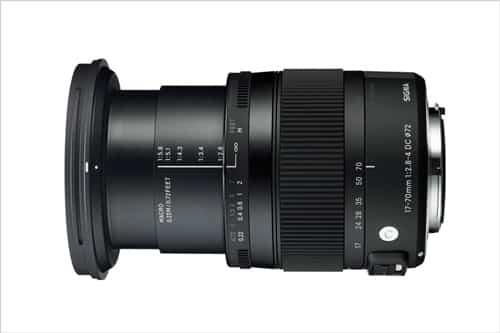 SIGMA 17-70mm F2,8-4 DC MACRO OS HSM