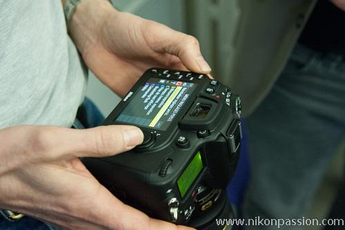 Des images du Nikon D7100 ...