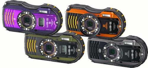 Pentax WG-3 et WG-3 GPS : compact étanche à 14m, capteur 16Mp, GPS et stabilisation mécanique