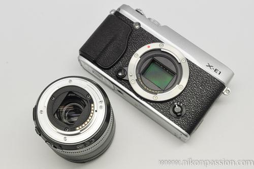 Test Fujifilm Fuji X-E1