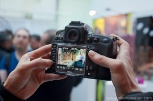 Nikon D800 visée LiveView