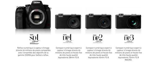 Sigma rembourse jusqu'à 500 euros sur les boîtiers Merrill DP1, DP2 et DP3