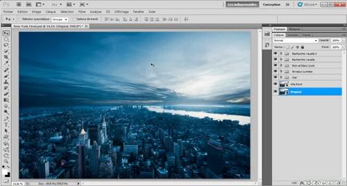 Tutoriel Photoshop : Paysage urbain, l'atelier créatif - 1h de vidéo - 10 chapitres