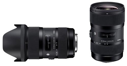 Sigma 18-35mm F1,8 DC HSM : premier zoom à ouverture f/1.8 constante