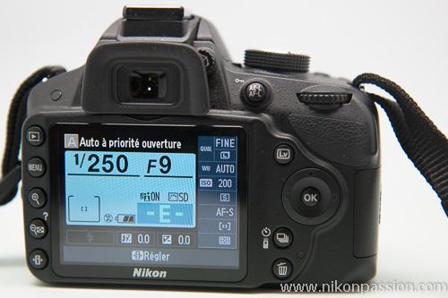 Test Avis Nikon D3200