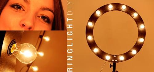 Comment fabriquer un éclairage annulaire pour moins de 50 euros - DIY Ring Light