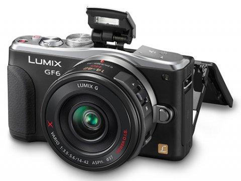 Panasonic Lumix GF6 : écran tactile orientable, wifi et capteur CMOS 16Mp