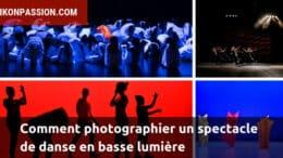 Comment photographier un spectacle de danse en basse lumière