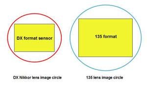 boîtiers DX Nikon : quelle est la focale équivalente ?