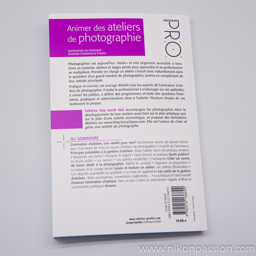 Animer des ateliers de photographie - devenir formateur photo