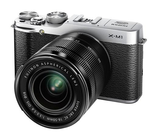 Fujifilm X-M1 : APS-C 16Mp, objectifs interchangeables, écran orientable, WiFi, 699 euros