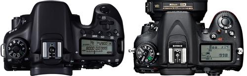 Comparatif Nikon D7100 - Canon EOS 70D