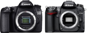 Comparatif Nikon D7100 – Canon EOS 70D : duel d'experts APS-C !