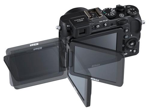 Nikon Coolpix P7800 : 12MP CMOS et un viseur électronique - 499 euros