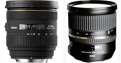 Objectifs Tamron et Sigma compatibles Nikon : sigles et abréviations
