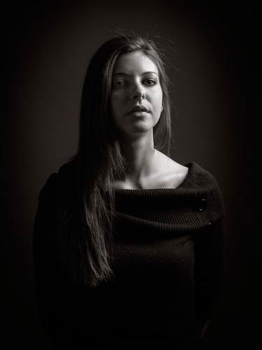 Tutoriel Photo : le portrait en studio Setup Split Light