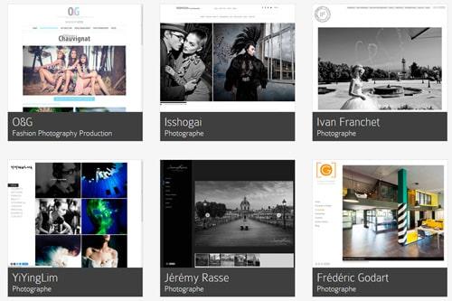 Comment créer un site web de photographe sans aucune connaissance : illustration avec Icon6