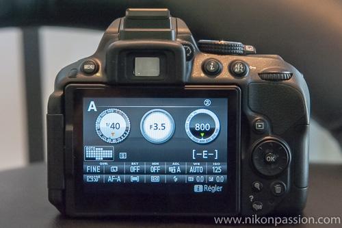 Nikon D5300 : 24Mp, GPS et Wi-Fi intégrés, écran orientable, Expeed 4, sans filtre passe-bas