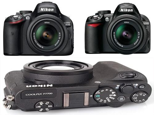 Mise à jour firmware pour les Nikon D3100, D5100, D3200, D5200 et Coolpix P7700