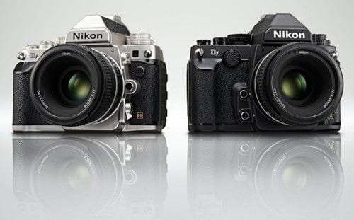 Nikon Df version chromée et version noire