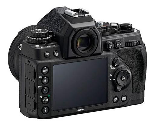 Nikon Df écran LCD et panneau arrière
