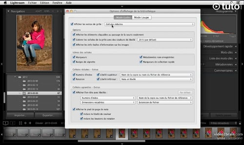 Tutoriel Lightroom 5 : Comment régler les options d'affichage de Lightroom