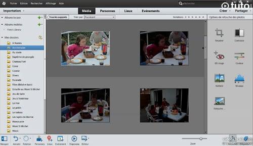 Tutoriel PSE 12 : retoucher et régler les images dans l'organiseur Photoshop Elements