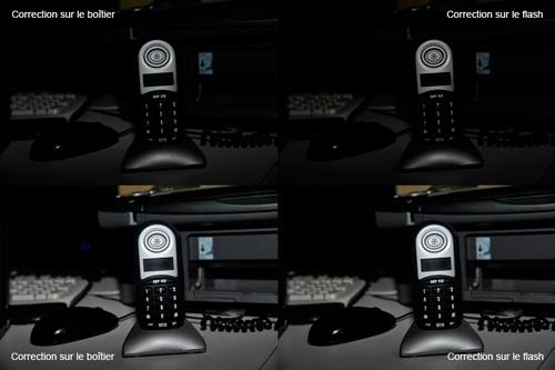 Comment régler le flash en mode Correction d'exposition