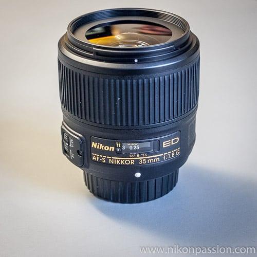 Nikon Nikkor AF-S 35mm f/1.8 : le 35mm f/1.8 pour boîtiers Nikon FX - 569 euros