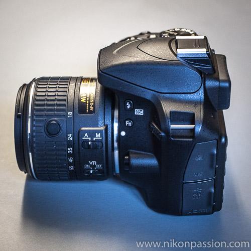 Nikon D3300 : 24mp, 25.600 ISO, pas de filtre passe-bas, 629 euros
