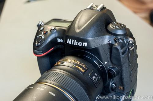 Nikon D4s : 16.2Mp, 11vps, 409.600 ISO