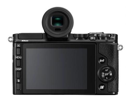 Nikon 1 V3 : 18.4Mp, écran inclinable tactile, wifi et flash intégrés et ergonomie revue