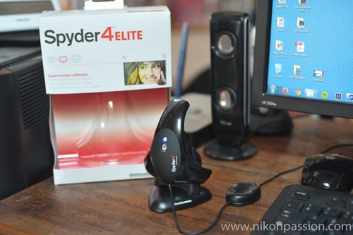Test sonde Datacolor Spyder 4 Elite