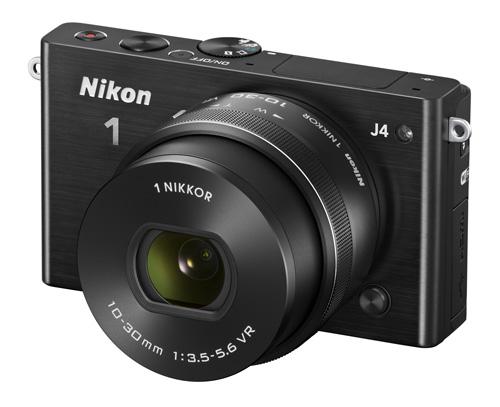 Nikon 1 J4 : écran tactile, 18Mp, 12.800 ISO, 20vps, 549 euros