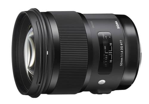 Sigma 50mm f/1.4 DG HSM pour Nikon, Canon, Sigma et Sony