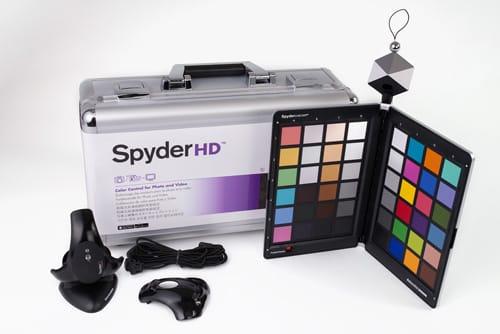 Datacolor SpyderHD pour calibrer photos et vidéos
