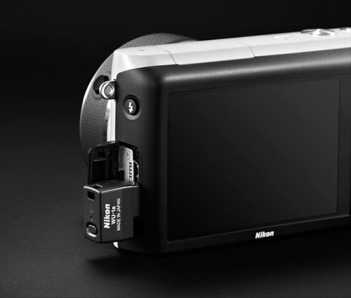 Nikon 1 S2 et dongle wifi Nikon WU-1a