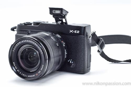 Test Fuji X-E2 flash intégré