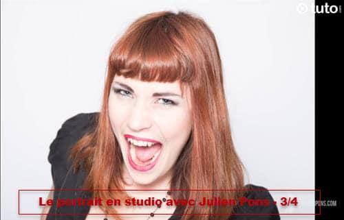 Apprendre le portrait en studio : tester des poses différentes - 3/4