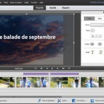 Comment créer un titre en plein écran avec une photo personnelle dans Premiere Elements