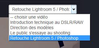 Apprendre le portrait en studio : retouche Lightroom et Photoshop – 4/4