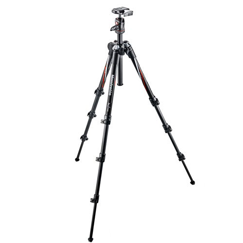 Trépied photo Manfrotto Befree Carbone