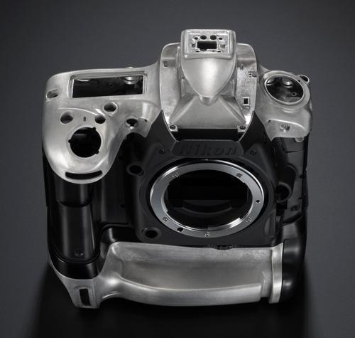 Nikon D750 construction alliage de magnesium et fibre de carbone
