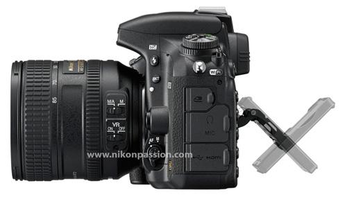 Nikon D750 écran orientable