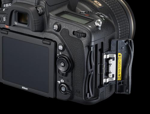 Nikon D750 Test double slot SD