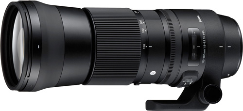 Sigma 150-600mm F5-6,3 DG OS HSM gamme Contemporary