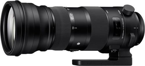 Sigma 150-600mm F5-6,3 DG OS HSM gamme Sport