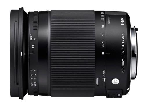 Sigma 18-300mm F3,5-6,3 DC MACRO (OS) HSM
